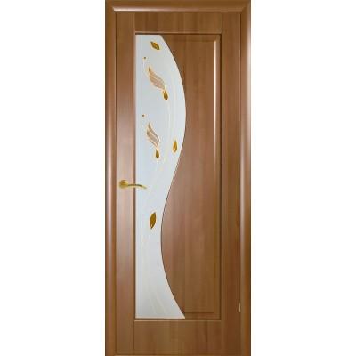 Дверное полотно Эскада золотая ольха ПО Новый стиль