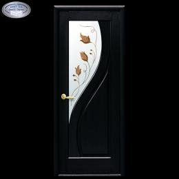 Дверное полотно Прима Р1 венге