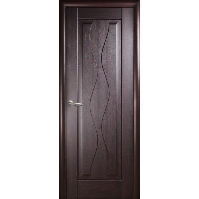 Межкомнатная дверь Волна венге ПГ
