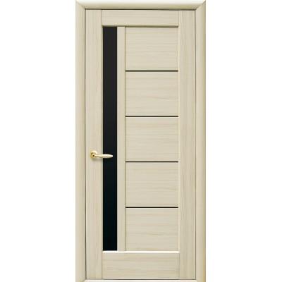 Дверное полотно Грета BLK Новый стиль цвет ясень