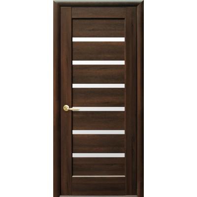 Дверное полотно Линнея Каштан