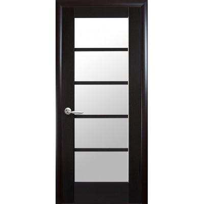 Дверное полотно МУЗА Новый стиль цвет венге