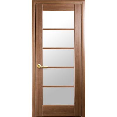 Дверное полотно Муза золотая ольха Новый стиль
