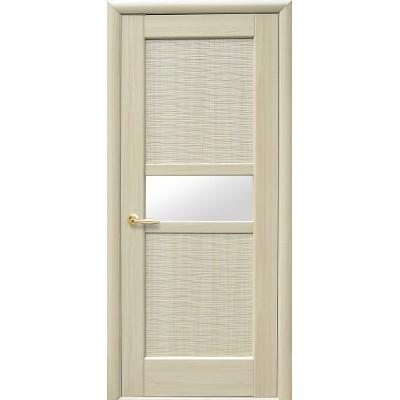 Дверное полотно Рифма ПВХ Новый стиль цвет ясень