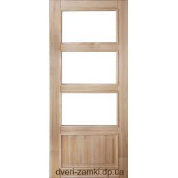 Двери из массива сосны Горизонт ПО