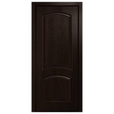 Дверное полотно Антре ПВХ Делюкс Каштан глухое
