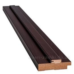 Коробка 100 мм МДФ венге brown