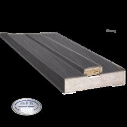 Коробка 100 мм ПВХ De Luxe grey