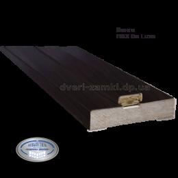 Коробка 100 мм ПВХ De Luxe венге