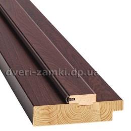 Коробка стоевая дерево 100 мм орех 3D