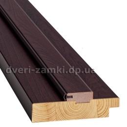 Коробка стоевая дерево 100 мм венге brown