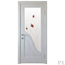 Дверное полотно Амата ясень new