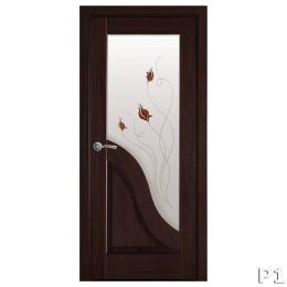 Дверное полотно Амата каштан Р