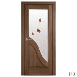 Дверное полотно Амата золотая ольха Р