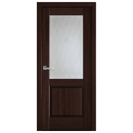 Дверное полотно Эпика Р2 каштан
