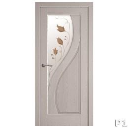 Дверное полотно Прима патина серая