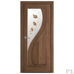 Дверное полотно Прима Р1 золотая ольха
