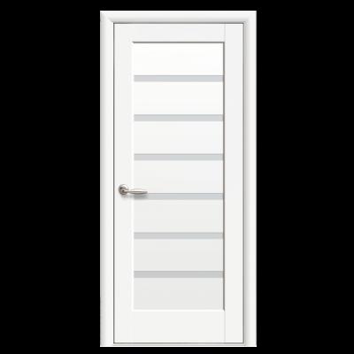 Дверное полотно Линнея белый матовый