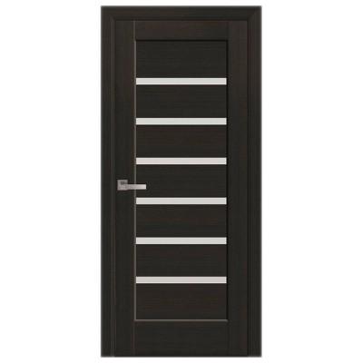 Дверное полотно Линнея венге Новый стиль