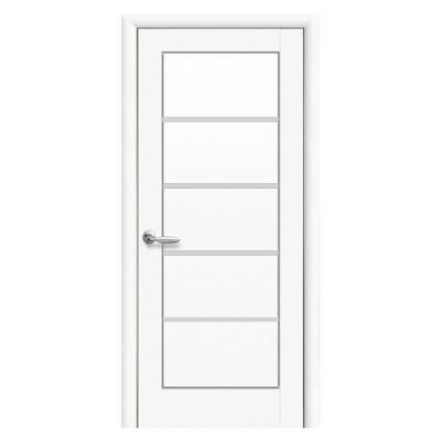 Дверное полотно Мира белый матовый