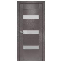 Дверное полотно Вена X-мокко стекло сатин