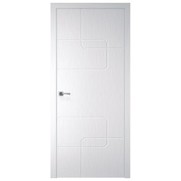Дверное полотно Кубо X-белый