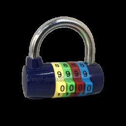 Замок кодовый SinG M206 синий