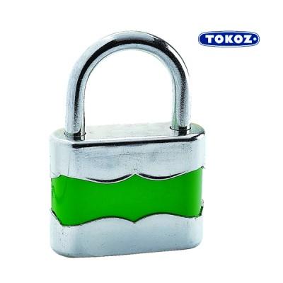 Навесной замок Tokoz DUPLO 45 2 ключа