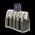 Набор навесных замков под один ключ ЧАЗ ВС2М1 (5-9)