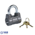 Набор замков под один ключ. 3 навесных замка ВС2-4А+6 ключей